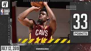 Malik Newman Full Highlights Cavaliers vs Kings (2019.07.12) Summer League - 33 Points!