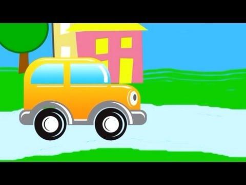 Çizgi film - Akıllı araba - Şekiller (Bölüm 1)