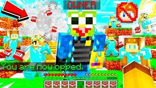I Got OP on the MOOSE HATER PRISON Server.. I BANNED the OWNER and HE STARTED CRYING.. (Minecraft)