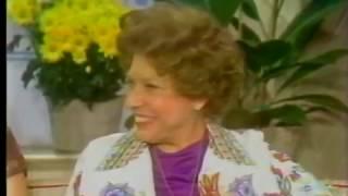 Judy Canova, Zsa Zsa Gabor, Lee Grant and Daughters, 1978 TV