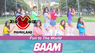 Download Lagu [K-POP IN PUBLIC COLOMBIA] _모모랜드 MOMOLAND _ BAAM_  [1TheK Dance Cover Contest] _ Aeternum Dance Crew Gratis STAFABAND