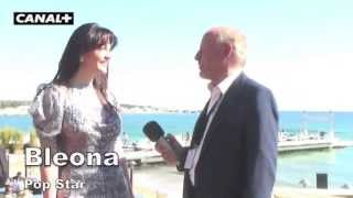 Bleona interview for Canal Plus by Peter DEREK