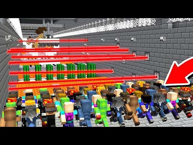 50 YOUTUBERS vs WORLD'S BIGGEST DEATHRUN!