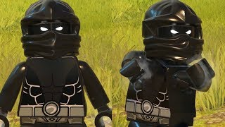 LEGO DC Super Villains - How To Make NOOB SAIBOT Custom Character