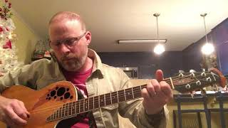 Dwight Yoakam's I Sang Dixie Acoustic Guitar Cover by Jason Swain