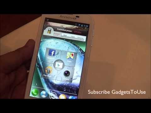 Lenovo A706 Hands on Review   Specs and Features Overview