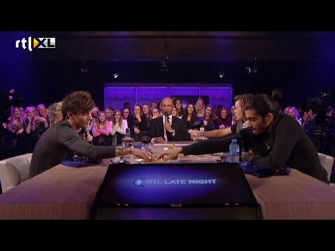 One Direction baldadig in RTL Late Night - RTL LATE NIGHT