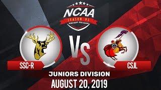SSC-R vs. CSJL | NCAA 95 Jrs Basketball | August 20, 2019