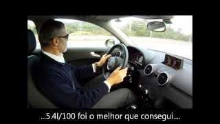 Ao volante... Audi A1 Sportback 1.6TDi 90cv (Re-post Janeiro/2013)