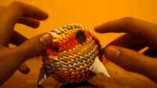 3d Origami Koi Fish - Not A Tutorial