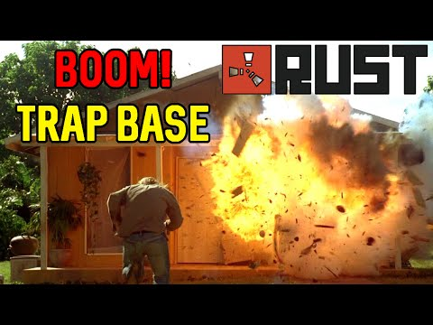BOOM BASE - Land Mine Trap Base - [ Rust ]