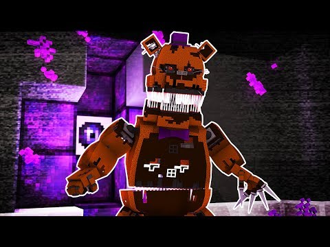 NIGHTMARE FREDBEAR EST APPARU ! ( SURVIE FNAF Minecraft )