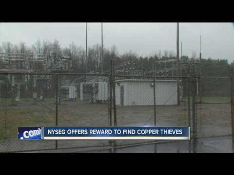 Reward offered in substation copper thefts