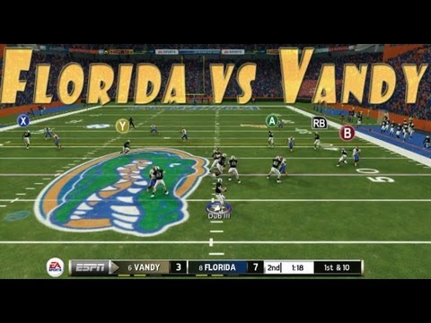 NCAA Football 2014: Florida Gators vs Vanderbilt Commodores