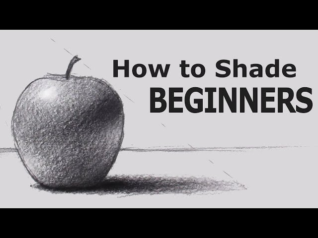 Play this video How to Shade with PENCIL for BEGINNERS