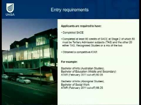 Australian and Aboriginal Studies - Open Day 2011 - University of South Australia