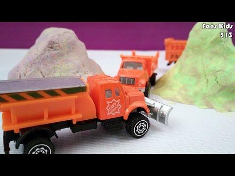 Kendaraan Kontruksi Membelah Gunung I Mainan Anak Laki - Laki
