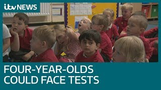 'Fills me with horror': Mum hits out at tests for four-year-olds | ITV News