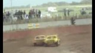 1e Autocross Texel 2008 - Ben Rentenaar vs. Hans Arnout