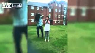 Girl manages to dislocate jaw on ice bucket challenge