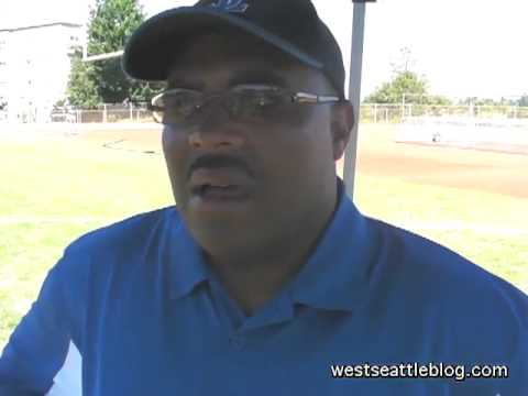 Seattle Lutheran High School football coach Jeff Scott - 08/26/2012