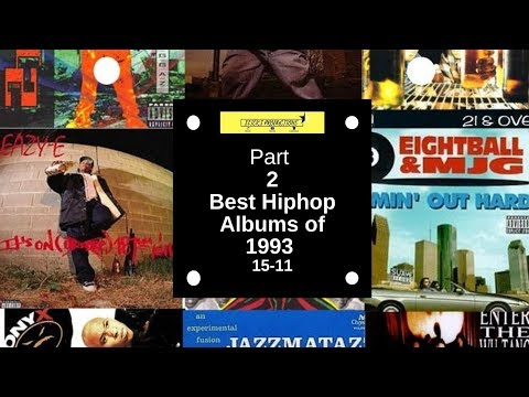 1993's best hiphop albums PT2 15 - 11 |Years in hiphop