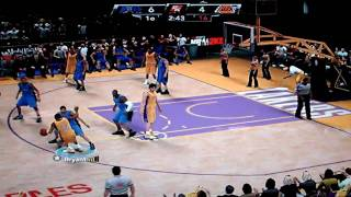 NBA 2K9 Playoffs Final - Magic vs Lakers 1Q