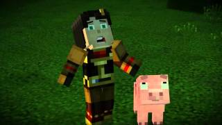 Minecraft Story Mode Episode 4: A Block and a Hard Place trailer