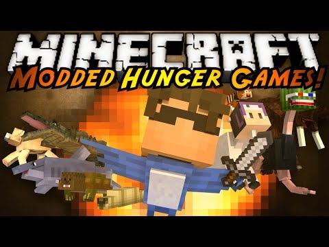 Minecraft Modded Hunger Games : Morph Mod! video