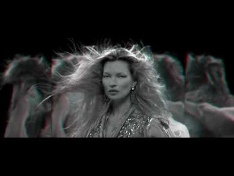 3D видеоролик (Kate Moss)