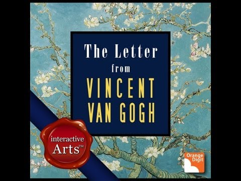 The Letter from Vincent Van Gogh, Interactive Arts on Apple iBook Store