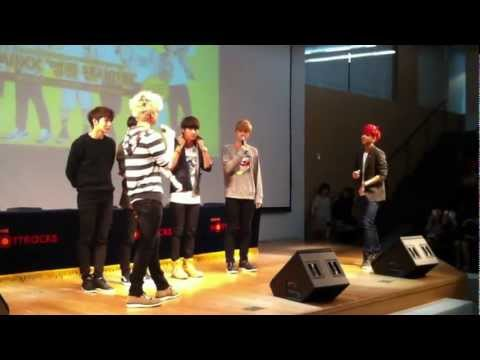 121003 VIXX RAVI vs HYUK Rap Battle
