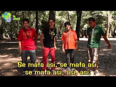 Dinámicas y Danzas Scouts: El Alacrán