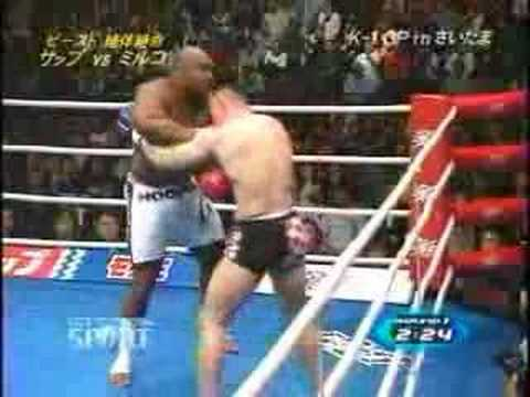 Mirko Filipovic(Cro Cop) Vs Bob Sapp Video