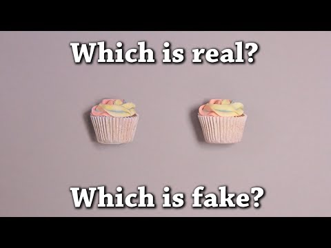 Fun Test: Which is Real? Unicorn Cupcake Drawing Challenge!