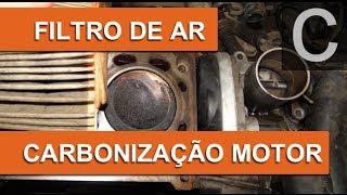 Dr CARRO Carbonização Interna do Motor Causada Pelo Filtro do Ar Sujo