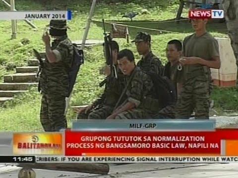 BT: Grupong tututok sa normalization process ng Bangsamoro Basic Law, napili na