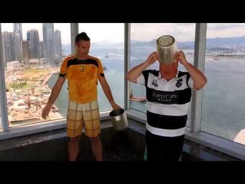 Ice Bucket Challenge from Renaissance Harbour View Hotel Hong Kong