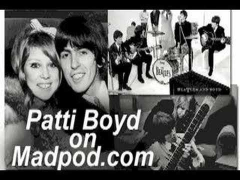 Patti Boyd Interview, George Harrison, Eric Clapton Video