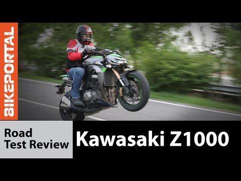 Kawasaki Z1000 Test ride  Review - Bikeportal