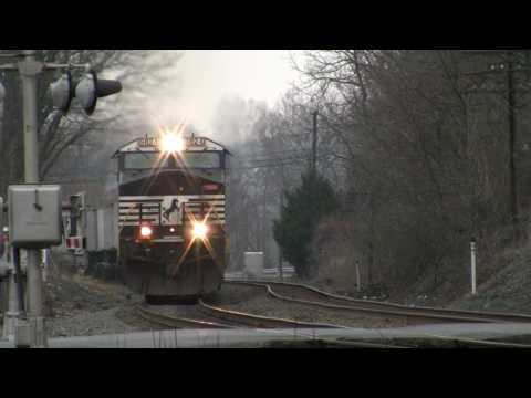 Norfolk Southern Harrisburg Line (New Tripod Test)