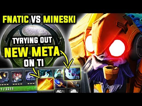 Mineski Dnt Give A F**k Trying Out New Meta On Ti8 - Moonn Tinker Perspective Epic Comeback Dota 2
