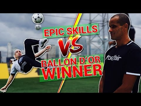 CRAZY SKILLS VS BALLON D'OR WINNER / RIVALDO !