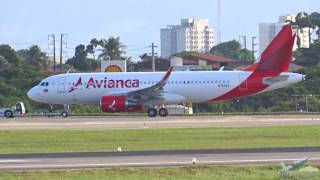 [SBFZ/ FOR] Delivery Flight - Pouso & Decolagem RWY13 Airbus A320 N750AV Avianca Colômbia 26/05/2016