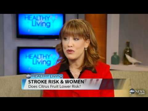 What Citrus Means for Stroke Risk   Video   ABC News
