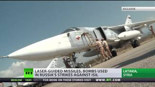 First-hand look at Russian 'smart bombs' used in Syria against ISIS