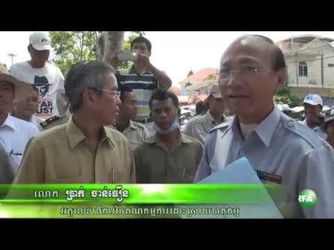 Y&W Garment Workers Seek Intervention from Mr. Hun Sen