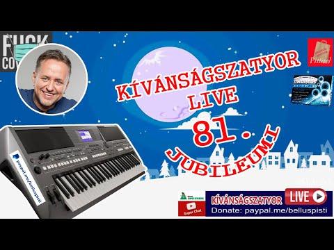 KÍVÁNSÁGSZATYOR LIVE 81.