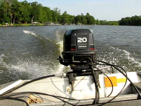 1995 Johnson 30 Hp Outboard Youtube