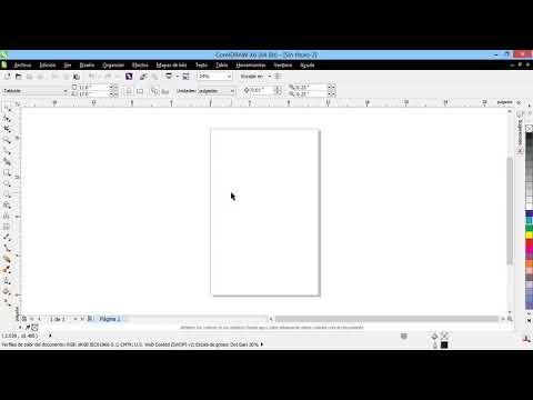 Curso Introducción a CorelDraw X6 - 04 Crear un Nuevo Documento